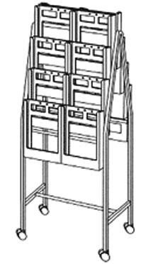 Brochure Trolley (Small)          OUT OF STOCK