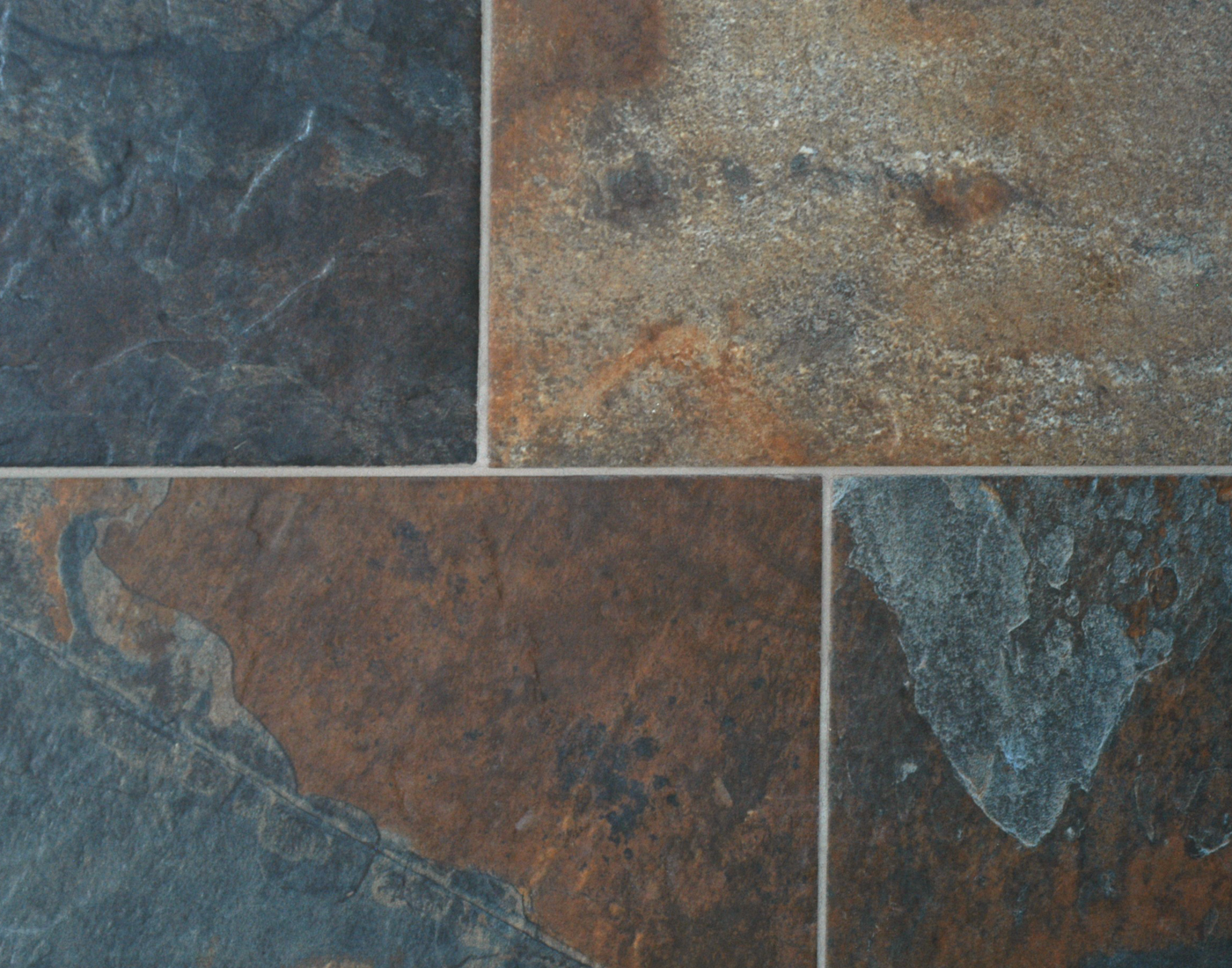 Ceramic tile slate look