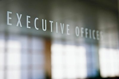 Sign to executive offices