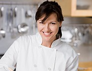 Smiling private chef