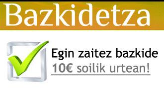 Bazkidetza bannerra