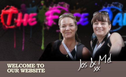 Welcome to our site. Jos and Mel