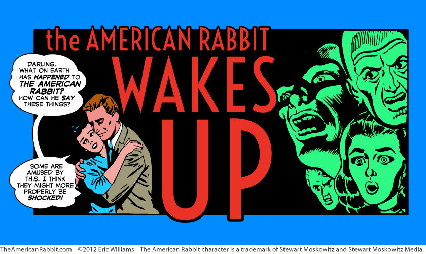 Page 1 of The American Rabbit Wakes Up