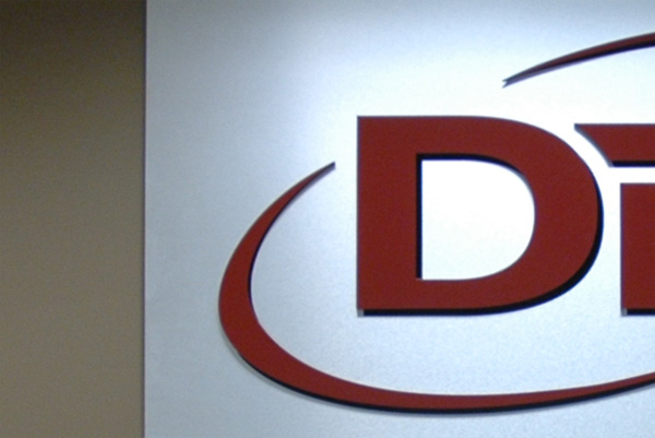 DTM Dimensional feature wall sign