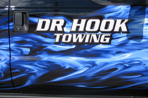 Dr Hook Towing half wrap