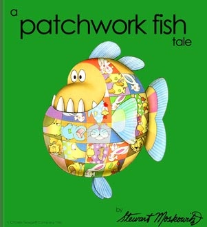 cover of A Patchwork Fish Tale by Stewart Moskowitz