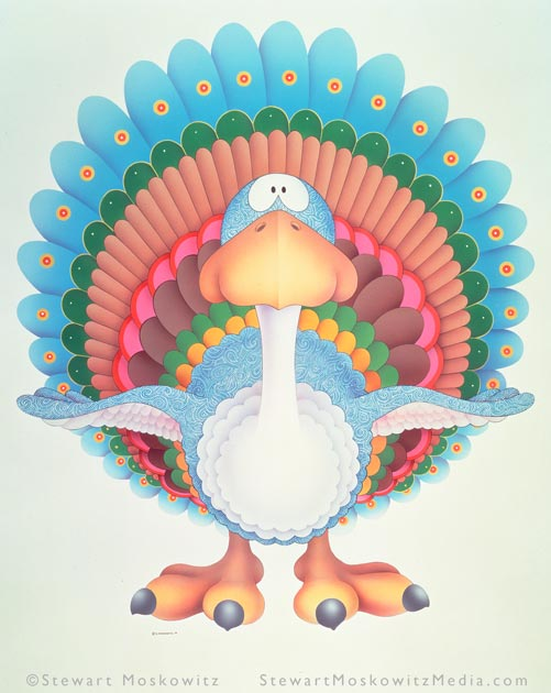 Peeky Turcock by Stewart Moskowitz