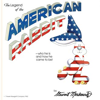 cover of The Legend of the American Rabbit