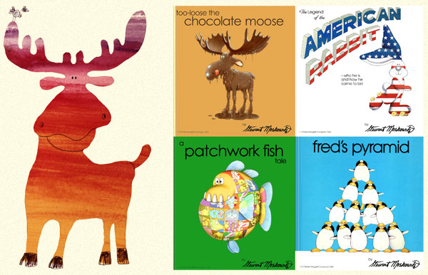 Too-Loose the Chocolate Moose, A Patchwork Fish Tale, The American Rabbit, and Fred's Pyramid