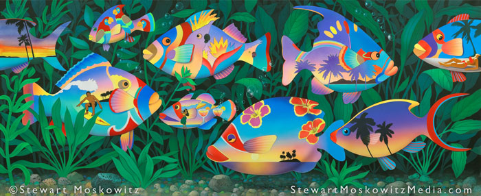 Tropical Fish by Stewart Moskowitz