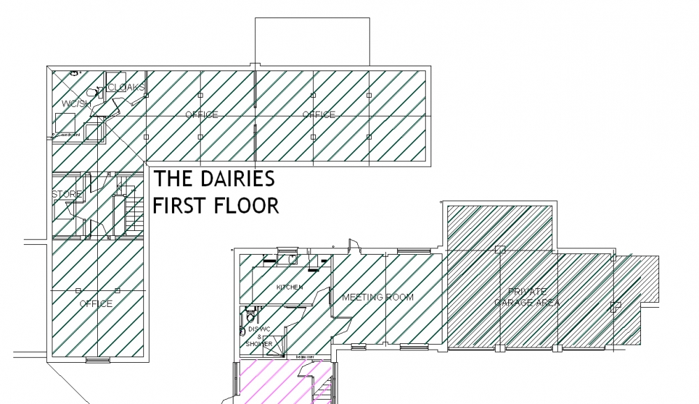 The Dairies First Floor