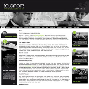 Solomons IFA website