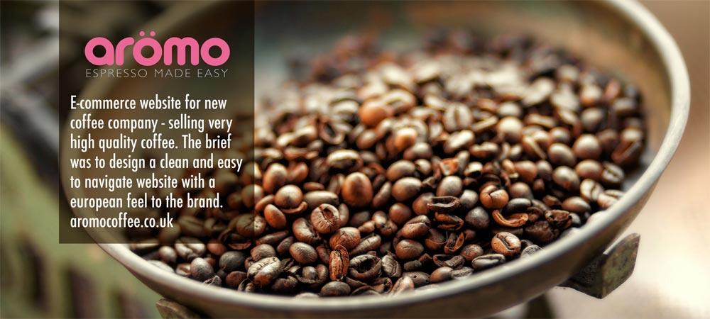 aromo coffee pods uk