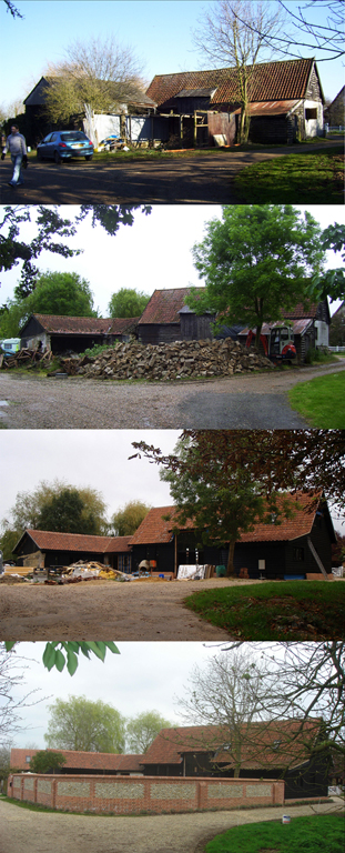 Church Farm Barn Construction Sequence