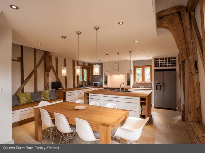 Church Farm Barn Conversion Thorndon Suffolk Interior space