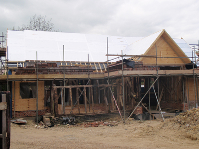 Super Insulation to Thorndon Barn Conversion in Suffolk