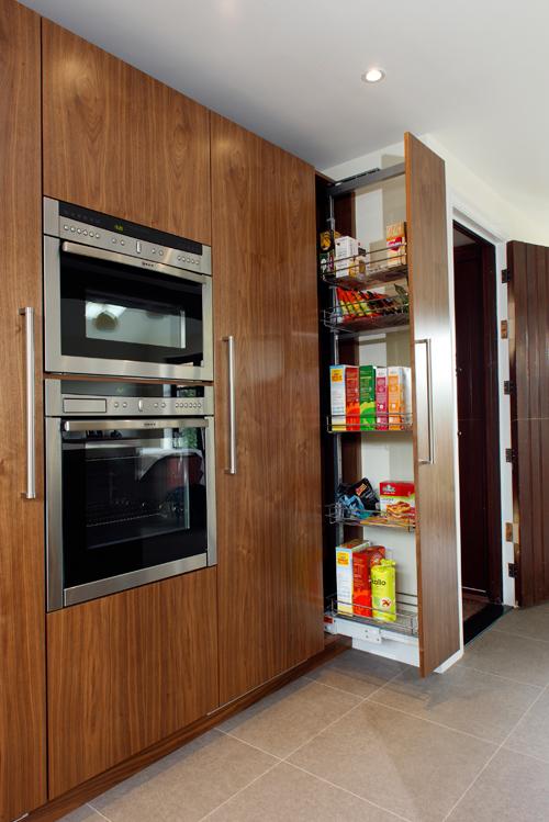Handmade Walnut And Painted Kitchen Litlington